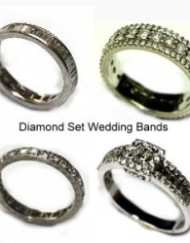 Diamond set wedding bands250px