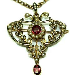 Antique Jewellery Alberts & Chains