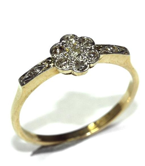 bring ladies especially in daisy era and wedding cluster which haven the il like style circular were cuts popular t topic your vintage rings come really handed empty i can georgian diamond see